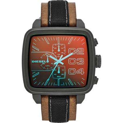 Diesel DZ4303 Watch Strap Brown Leather