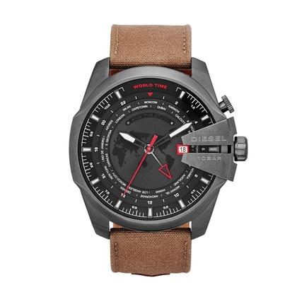 Diesel DZ4306  Watch Strap Brown Leather