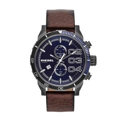 Diesel DZ4312 Watch Strap Brown Leather