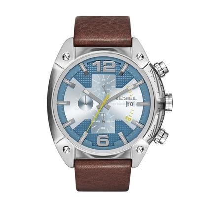 Diesel DZ4331 Watch Strap Brown Leather