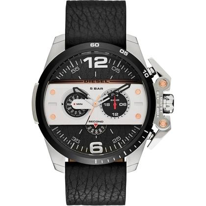 Diesel DZ4361 Watch Strap Black Leather