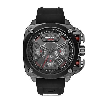 Diesel DZ7356 Watch Strap Black Rubber