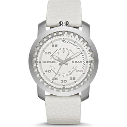 Diesel DZ1752  Watch Strap White Leather