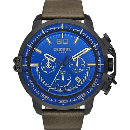 Diesel DZ4405 Watch Strap Brown Leather