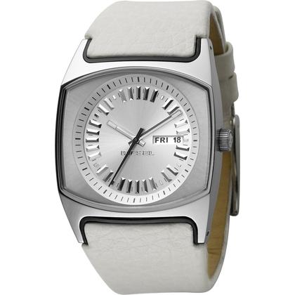 Diesel DZ5165 Watch Strap White Leather