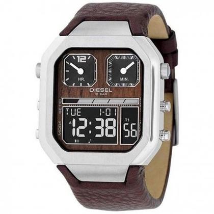 Diesel DZ7064 Watch Strap Brown Leather
