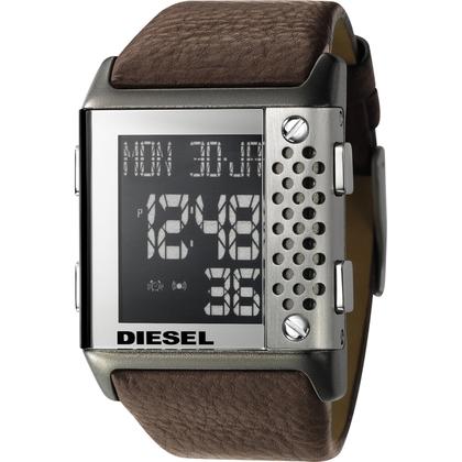 Diesel DZ7123 Watch Strap Brown Leather