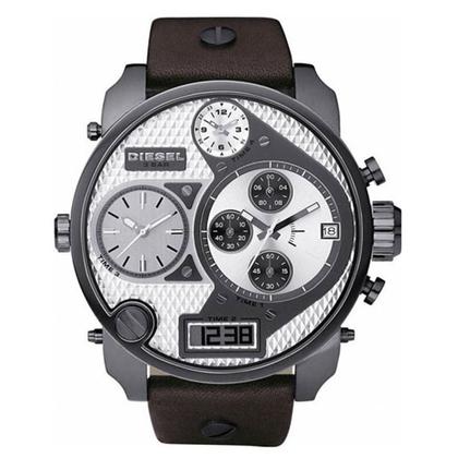 Diesel DZ7126 Watch Strap Brown Leather