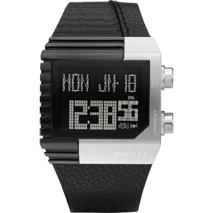 Diesel DZ7184 Watch Strap Black Leather
