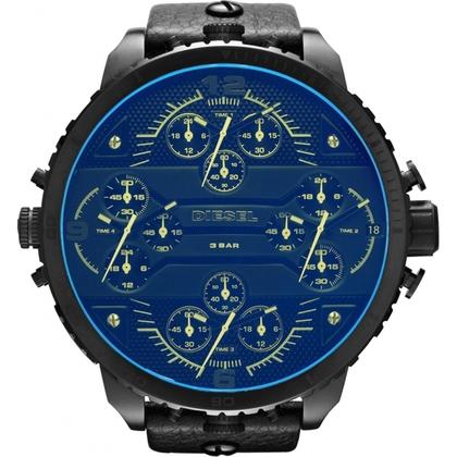 Diesel DZ7262 Watch Strap Black Leather