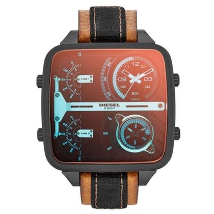 Diesel DZ7285 Watch Strap Brown Leather