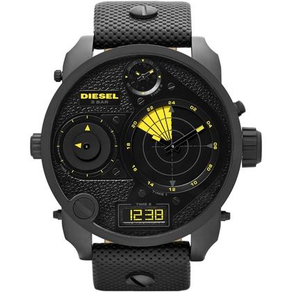 Diesel DZ7296 Watch Strap Black Leather