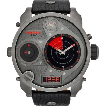 Diesel DZ7297 Watch Strap Black Leather