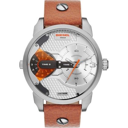 Diesel DZ7309 Watch Strap Brown Leather