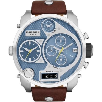 Diesel DZ7322 Watch Strap Brown Leather