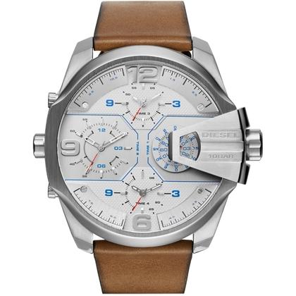 Diesel DZ7374 Watch Strap Brown Leather