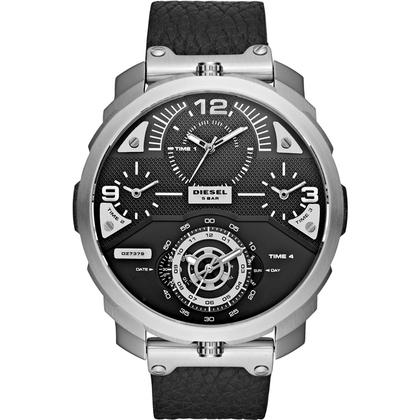 Diesel DZ7379 Watch Strap Black Leather