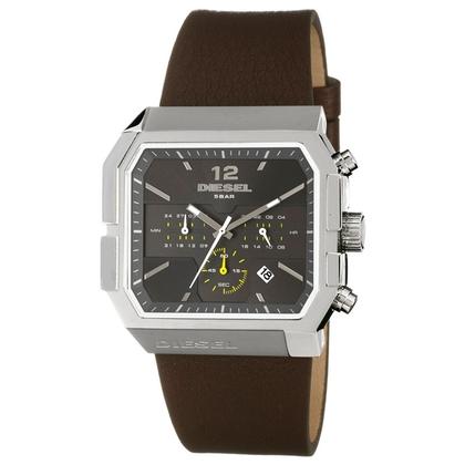 Diesel DZ4191 Watch Strap Brown Leather