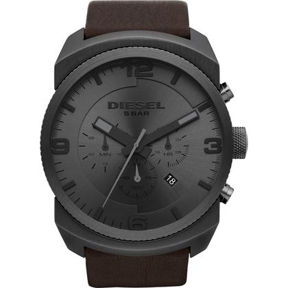 Diesel DZ4256 Watch Strap Brown Leather