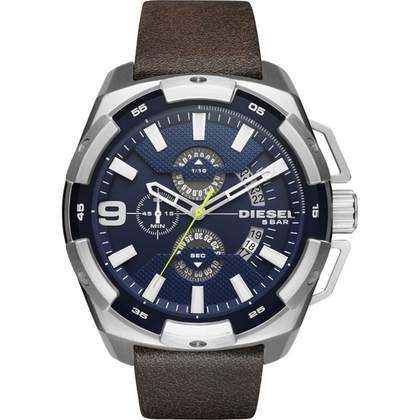 Diesel DZ4418 Watch Strap Brown Leather