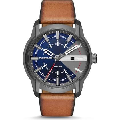 Diesel DZ1784 Watch Strap Brown Leather