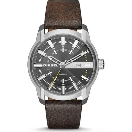 Diesel DZ1782 Watch Strap Brown Leather