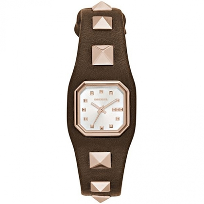 Diesel DZ5504 Watch Strap Brown Leather