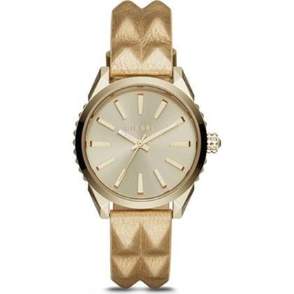 Diesel DZ5516 Watch Strap Gold Leather
