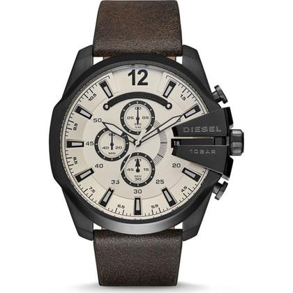 Diesel DZ4422 Watch Strap Brown Leather