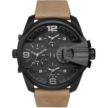 Diesel DZ7390 Watch Strap Brown Leather