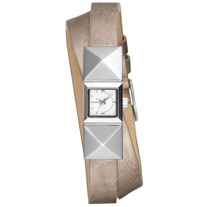 Diesel DZ5517 Watch Strap Silver Leather