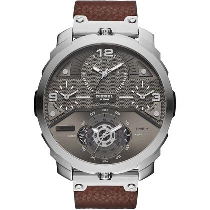 Diesel DZ7360 Watch Strap Brown Leather