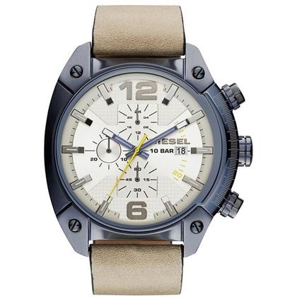 Diesel DZ4356 Watch Strap Beige Leather