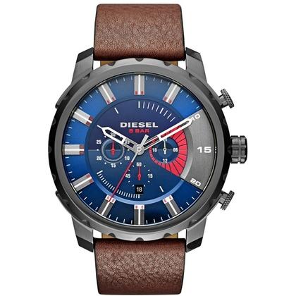 Diesel DZ4366 Watch Strap Brown Leather