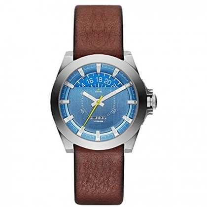 Diesel DZ1696  Watch Strap Brown Leather