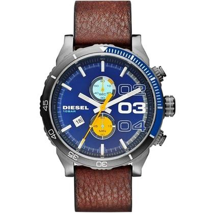 Diesel DZ4350 Watch Strap Brown Leather