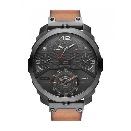 Diesel DZ7359 Watch Strap Brown Leather