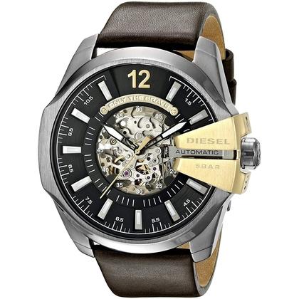 Diesel DZ4379 Watch Strap Brown Leather