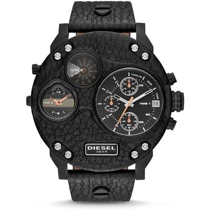 Diesel DZ7354 Watch Strap Black Leather