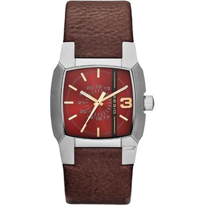 Diesel DZ1667 Watch Strap Brown Leather