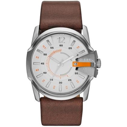 Diesel DZ1668 Watch Strap Brown Leather