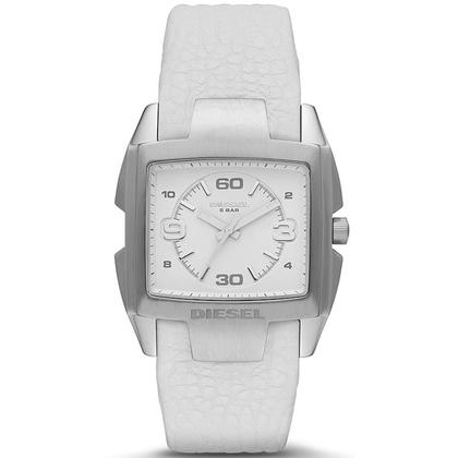 Diesel DZ1630 Watch Strap White Leather