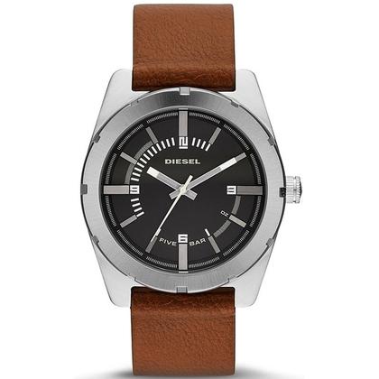 Diesel DZ1631 Watch Strap Brown Leather