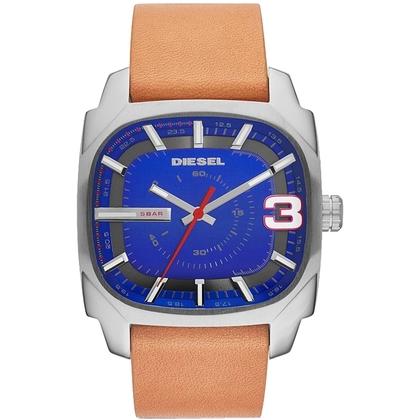 Diesel DZ1653 Watch Strap Brown Leather