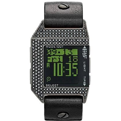 Diesel DZ7280 Watch Strap Black Leather