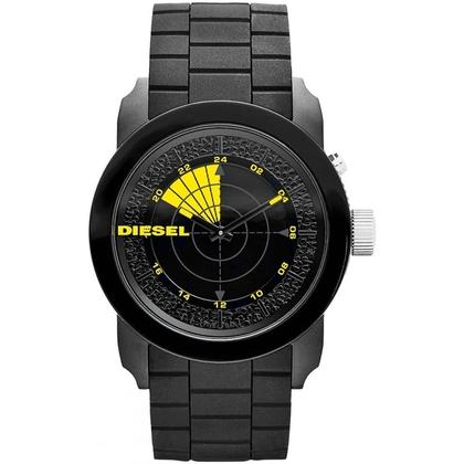Diesel DZ1605 Watch Strap Black Rubber