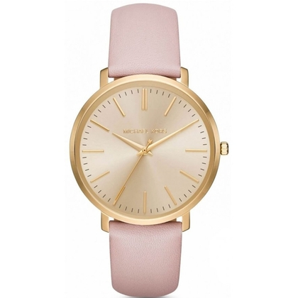 Michael Kors MK2471 Watch Strap Pink Leather