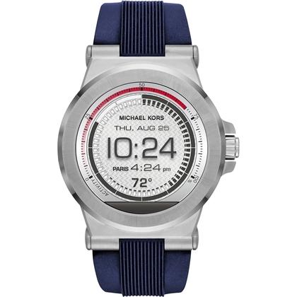 Michael Kors MKT5008 Watch Strap Blue Rubber