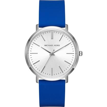 Michael Kors MK2535 Watch Strap Blue Rubber