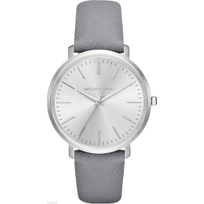 Michael Kors MK2470 Watch Strap Grey Leather
